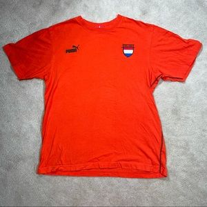 Holland 14 Puma Orange T-Shirt Netherlands Jersey